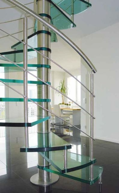 Escadas de Vidro