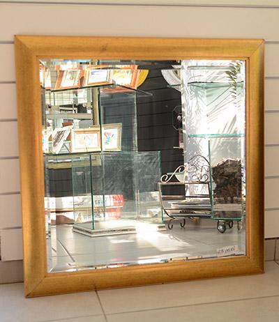 Espelho 4mm com bisotê triplo 715×715